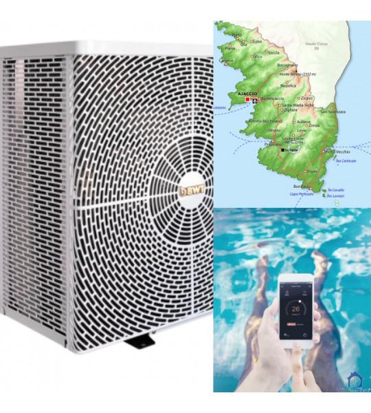 Pompe à chaleur piscine en acier container (20135) Conca