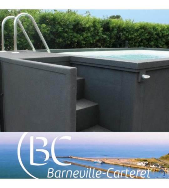 Container piscine hors sol 5M25x2M55x1M26 (50270) Barneville Carteret