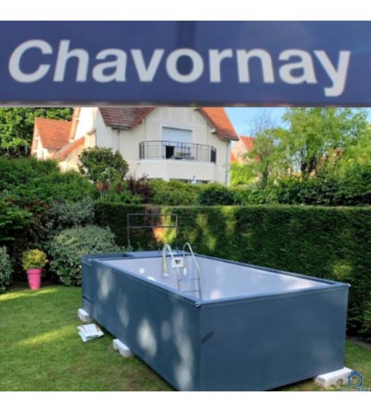 Destination Chavornay (VD) Container piscine 5M25x2M55x1M26