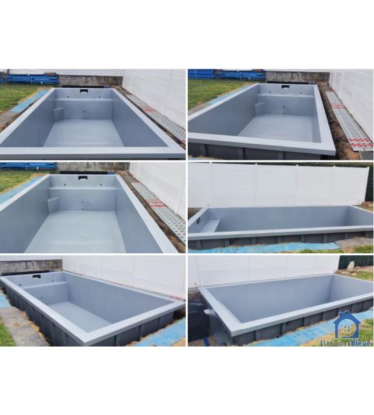 Découverte Piscine Container acier 6Mx3Mx1M40
