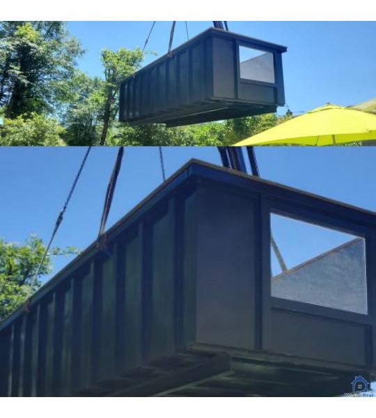 Piscine Container acier 6Mx3Mx1M40