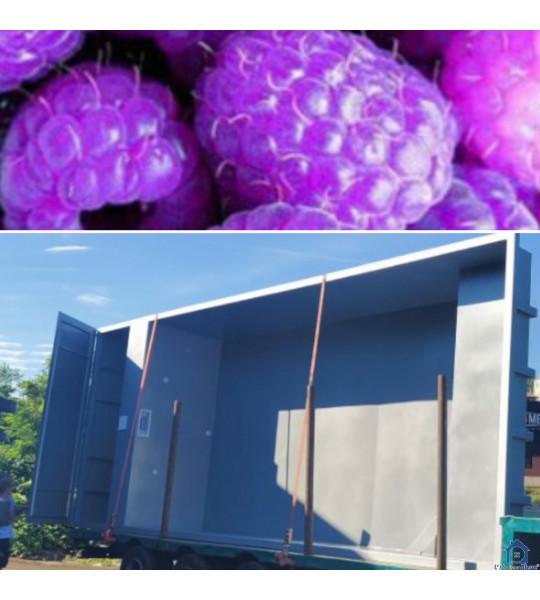 Piscine Container acier suspendue 4M30x2M30x1M46-Saint-Romain de Lerps (07130)
