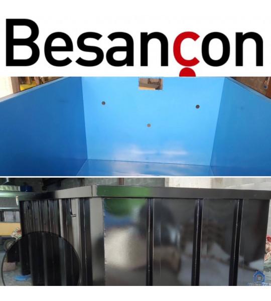 Piscine Container en acier 6Mx3Mx1M50 sur mesure Besançon (25000)