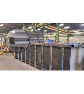 Ternay (69360) Découverte Piscine Container acier 4M30x2M30x1M40