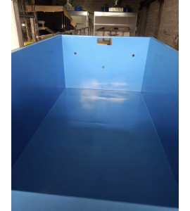 Container acier piscine acier 5M70x2M30x1M35 Biscarrosse (40600), Landes
