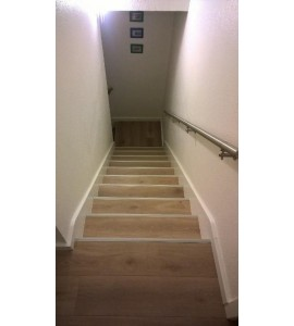 Habillage Escalier droit 15 marches