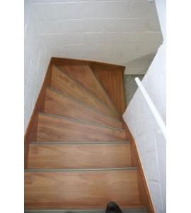 Habillage Escalier droit 16 marches