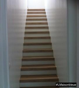 Habillage Escalier droit 19 marches