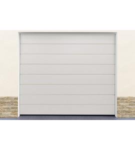 Porte garage blanc