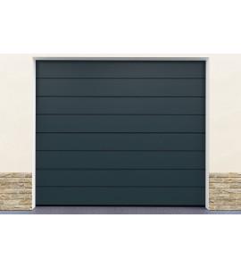 Porte de garage gris