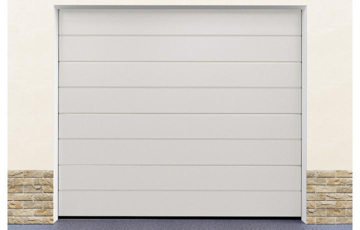 Kit porte garage blanc