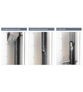 Motorisation porte de garage gris sectionnelle pas cher - Motorisation porte de garage sectionnelle ...