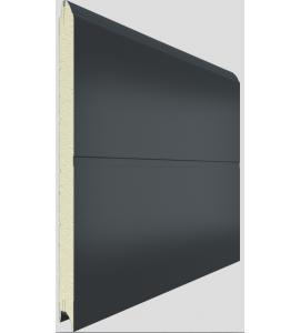 porte garage sectionnelle coloris marron sur mesure. Black Bedroom Furniture Sets. Home Design Ideas