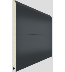 installation porte de garage en kit coloris blanc. Black Bedroom Furniture Sets. Home Design Ideas