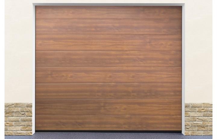 Facile à monter porte garage ton bois