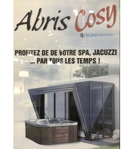 Abri Spa INOX 3Mx3M50