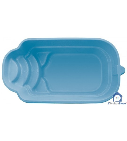 piscine coque 5Mx2M70x1M30