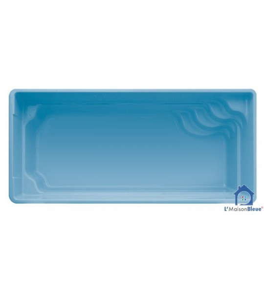 Piscine coque 5M40x3Mx1M50