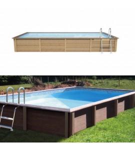 Piscine béton 4M67x3M24x1M28 (Kit piscines)