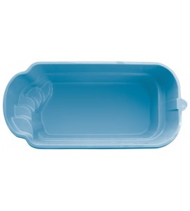 Piscine coque 6Mx3Mx1M40