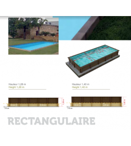 Kit piscine en béton 7M50x3M24x1M28