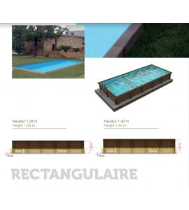Kit piscine en béton 7M50x3M24x1M28 (Acier)