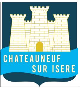Chateauneuf sur Isere Piscine container 12Mx2M50x1M40